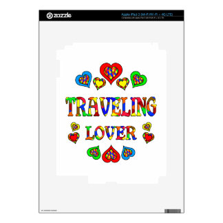 Traveling Lover iPad 3 Decal