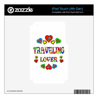Traveling Lover iPod Touch 4G Skins