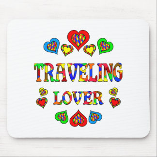 Traveling Lover Mouse Pad