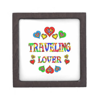 Traveling Lover Premium Trinket Boxes