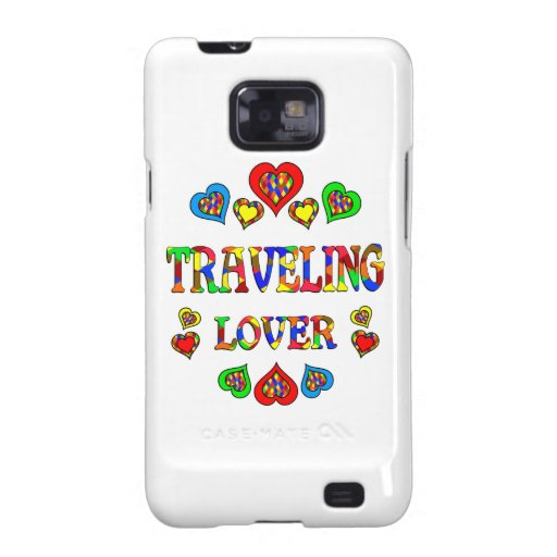 Traveling Lover Samsung Galaxy SII Covers