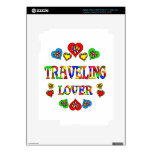 Traveling Lover Skin For iPad 3