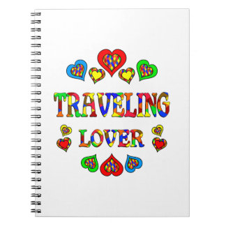 Traveling Lover Spiral Notebooks