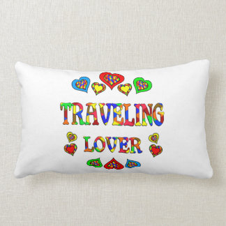 Traveling Lover Throw Pillows
