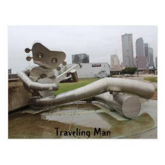 Traveling Man # 16 Postcard