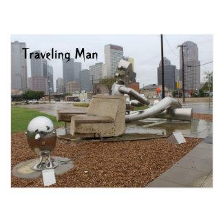 Traveling Man # 1 Postcard