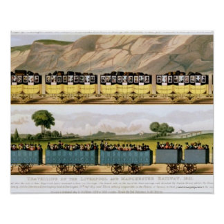 Traveling on the Liverpool and Manchester 2 Poster