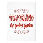Traveling Passion Custom Invitations