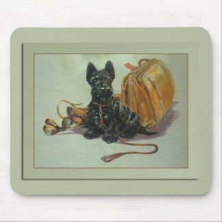 Traveling Scottie Dog Mousepad