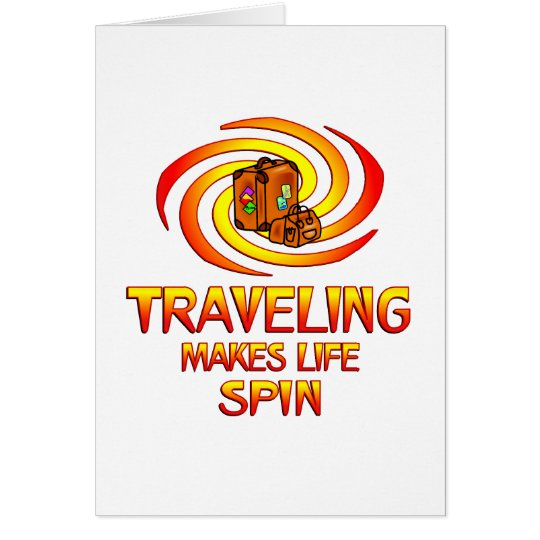 Traveling Spins Card