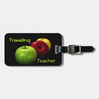 Traveling Teacher Luggage Tag