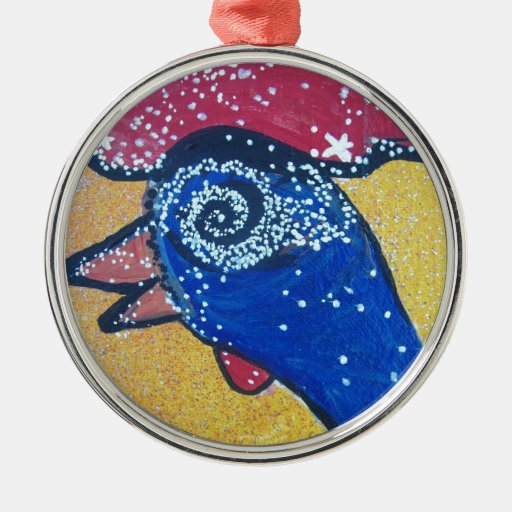 Traveling to the Chicken head galaxy Ornaments