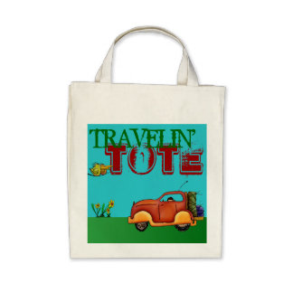 Traveling Tote Vacation Carry-All Car Organic Bag