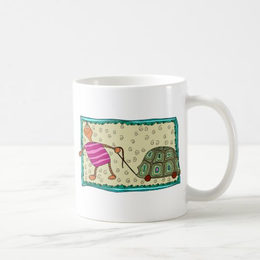 Traveling Turtle Classic White Coffee Mug