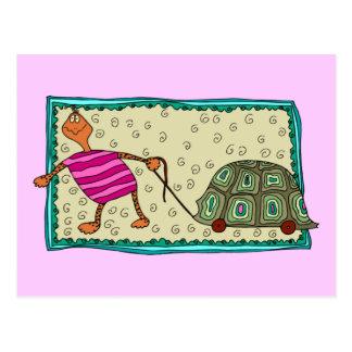 Traveling Turtle Postcard