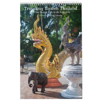 Traveling Unseen Thailand Calendar