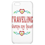 Traveling Warms My Heart Cover For iPhone 5C
