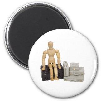 TravelingSuitcases112409 Fridge Magnets