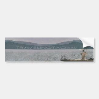 travelingtao  ( The Natural Way ) Car Bumper Sticker