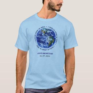 Travelled Around the World Bar Bat Mitzvah T-Shirt