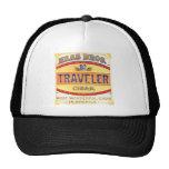 Traveller Cigar Label Image Mesh Hat