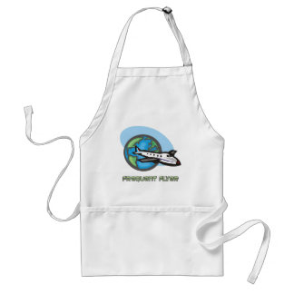 Traveller: Frequent flyer passenger airplane Adult Apron