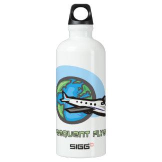 Traveller: Frequent flyer passenger airplane SIGG Traveler 0.6L Water Bottle