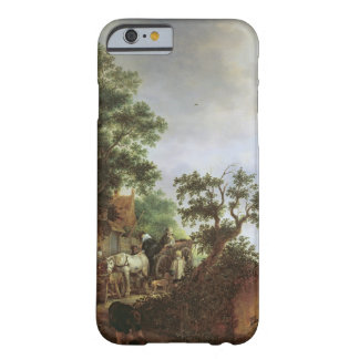 Travellers by an Inn (oil on canvas) Barely There iPhone 6 Case