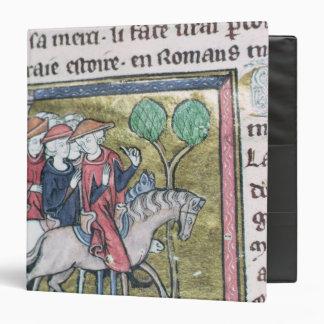 Travellers, from the Roman de Jules Cesar Binder