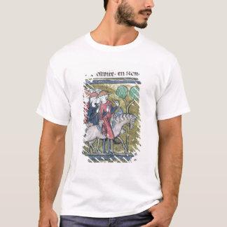 Travellers, from the Roman de Jules Cesar T-Shirt