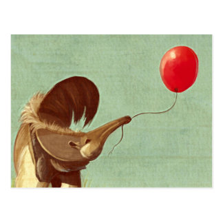 Travelling Balloon Postcard