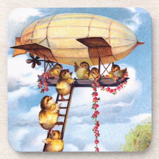 Travelling Chicks Drink Coaster