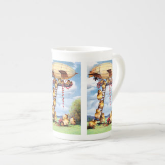 Travelling Chicks Tea Cup