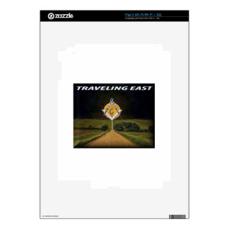 Travelling East Skin For iPad 2