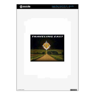 Travelling East Skin For iPad 3