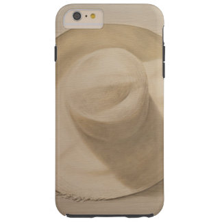 Travelling Hat on Dusty Table 2010 Tough iPhone 6 Plus Case