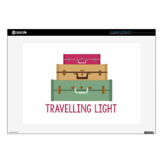 Travelling Light Decal For Laptop