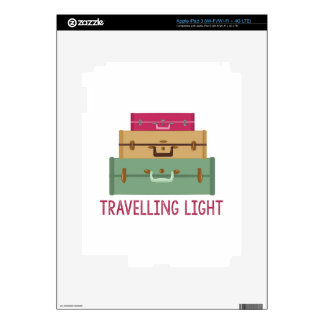 Travelling Light Decals For iPad 3
