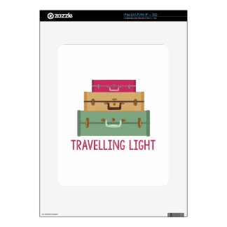 Travelling Light Decals For The iPad