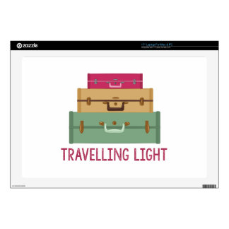 Travelling Light Laptop Decal