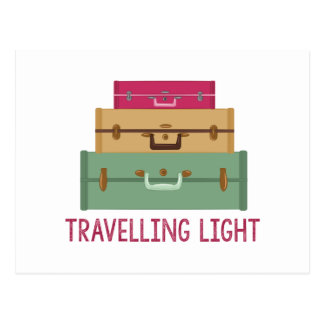 Travelling Light Postcard
