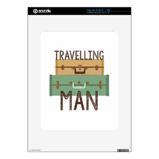 Travelling Man iPad Decal