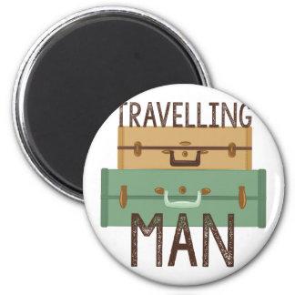 Travelling Man Magnet