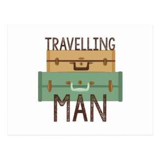 Travelling Man Postcard