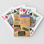 Travelling Playing Cards