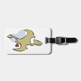 travelling pterosaur tags for bags