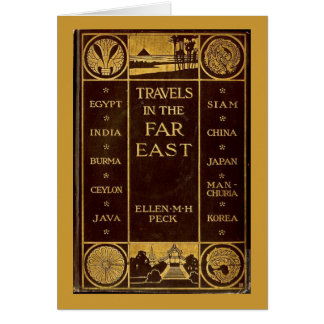 Travels in the Far East Card