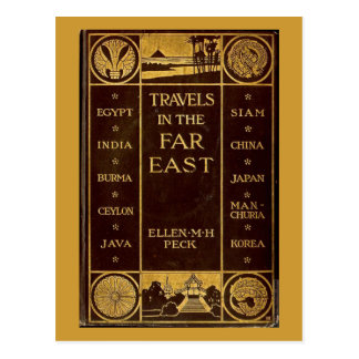 Travels in the Far East Postcard