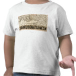 Travels of the Apostle PaulPanoramic Map Tee Shirts