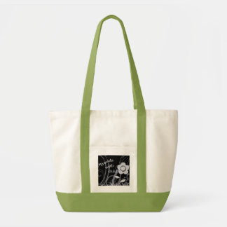 Travels With Child Canvas Bag